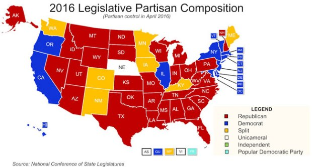 2016-Legislative-Party-Control